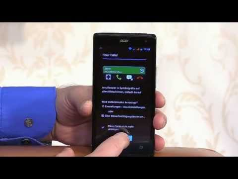 Acer Liquid - 7 Telefon, SMS / MMS, Kontakte