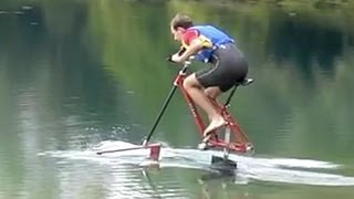 PEOPLE ARE AWESOME - Flying on water