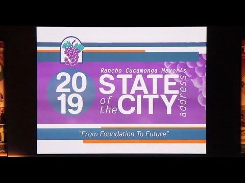 2019 Rancho Cucamonga State Of The City Address