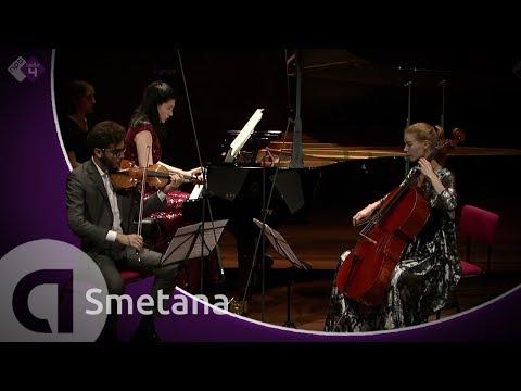 Smetana: Piano Trio in G minor, Op. 15 - Harriet Krijgh & Friends - Live Classical Concert HD