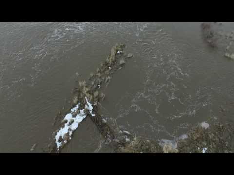 Raft River flood Almo farm 2017