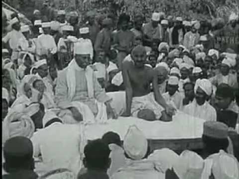 Mahatma Gandhi 1869-1948 (Real footage of Gandhi)