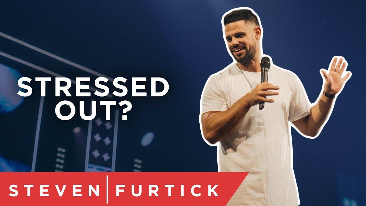 When pressure points, point back.   Pastor Steven Furtick