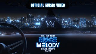 @VIZE  x Alan Walker - Space Melody (Edward Artemyev) feat. Leony (Official Music Video)