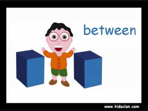 Prepositions Of Place English Flashcards For Children YouTube