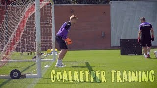 Stoke City Goalkeeper Training