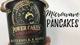 Make Pancakes in your Microwave with Kodiak Cakes Power Flapjack