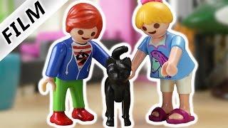 Playmobil Film Deutsch - JULIAN + HANNAH ALLEIN ZUHAUSE! WER KRATZT AN DER TÜR? Familie Vogel