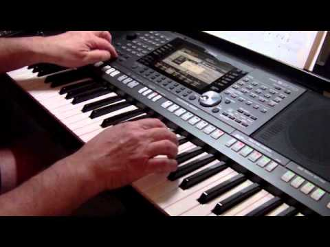 how deep is your love yamaha psr s970 youtube. Black Bedroom Furniture Sets. Home Design Ideas