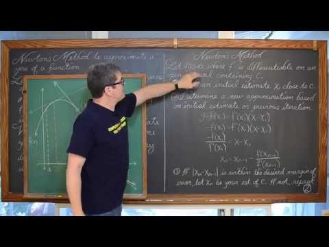 Newton's Method Linear Approximation Estimating a Zero of a Function