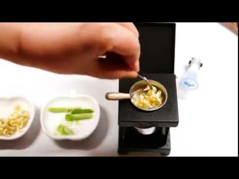 kitchen miniature replace cabinets 真正可用微型廚房料理絕非模型玩具 youtube 厨房微型