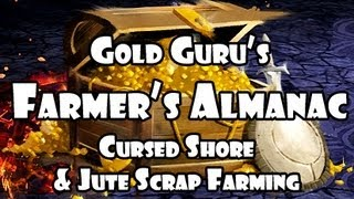 ►GW2 Farmer's Almanac - Cursed Shore and Jute Scrap Farming ~ShoddyCast~