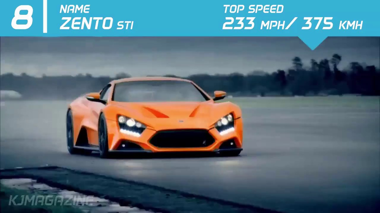 fec306ea5f85 Top 10 Fastest Cars In The World 2016-2017 - YouTube