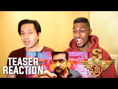 Singam 3 - S3 Official Teaser Reaction and...