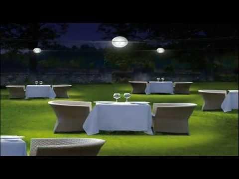 TensEsterni: sistema di illuminazione su cavi per esterno. - YouTube