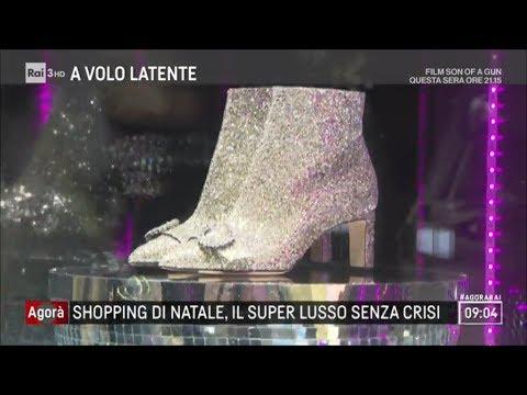 Shopping di natale, il super lusso passa da Milano - Agorà 14/12/2017