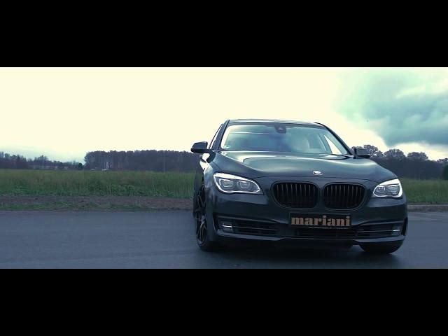 Tuning Bmw 750i F01 All Black I Mariani Felgen I Auspuff I