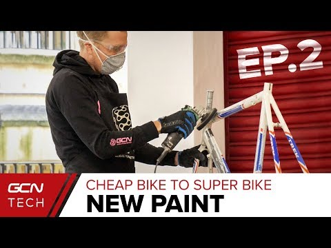 Painting A Bike Ourselves | Cheap Bike To Super Bike Ep. 2