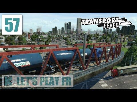 [FR] Transport Fever Libre | 2058 | Gare de marchandises intra muros pour livraisons industrielles