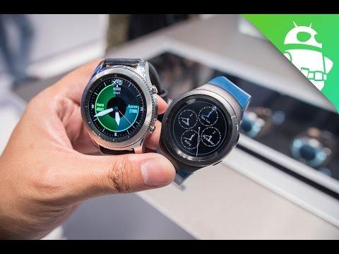 Samsung Gear S3 vs Gear S2 at IFA 2016