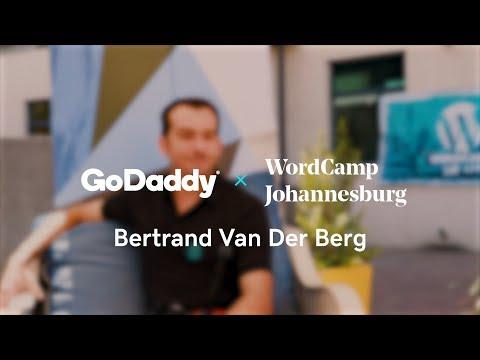 WordCamp Talk | Bertrand Van Der Berg, Photographer