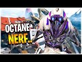 Octane got NERFED.. is he still good? Apex Legends Season 9
