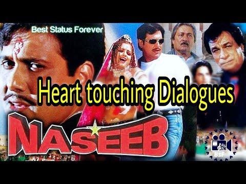 Naseeb Movie Govinda Dialogues All Heart Touching Best Status Forever Bhavi Status