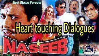 Naseeb Movie Govinda Dialogues 💔    All Heart Touching    Best Status Forever    Bhavi Status   