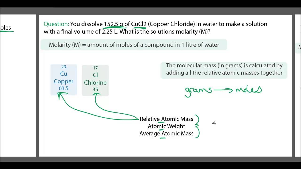 how to find molarity from density and molality