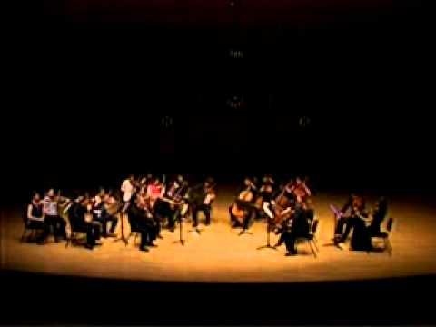 Beethoven Quartet op 133 Great Fugue (KNUA Ensemble)