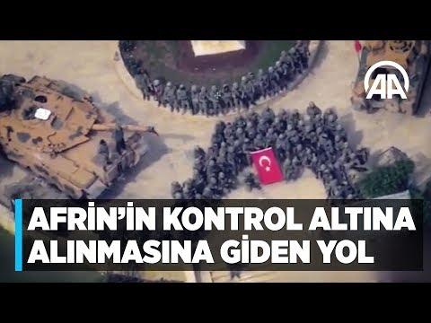 Afrin'in kontrol altına alınmasına giden yol