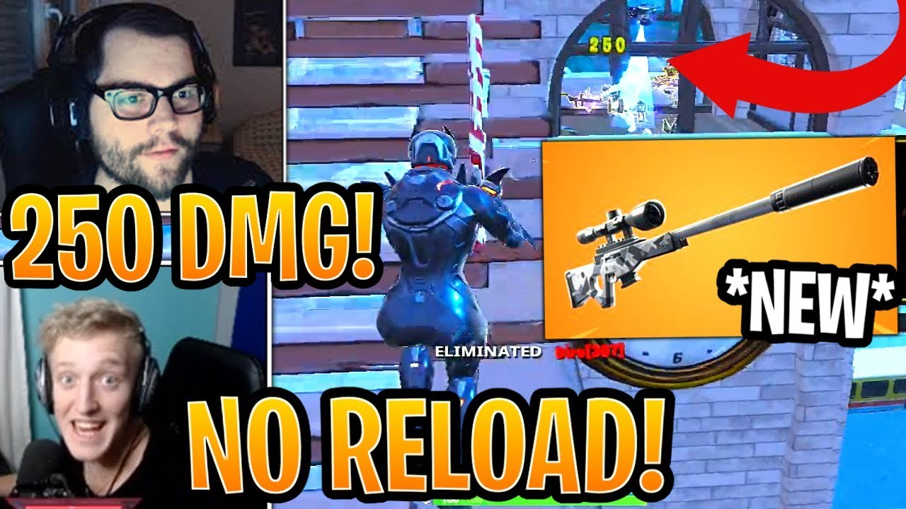 streamers-first-time-using-new-suppressed-sniper-rifle-silenced-sniper-fortnite-moments