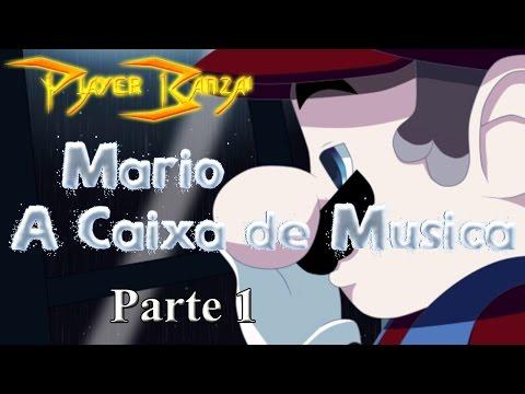 Mario - A Caixa de Música - The Music Box PT-BR Portugues Parte 1 - Mário na mansão
