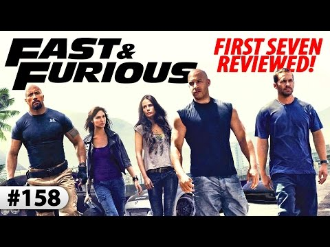 FAST & FURIOUS -- Reviews Of The First SEVEN Films!
