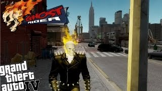 GTA IV Ghost Rider Mod - Real Ghost Rider Comes to Liberty City (Voice Modifier)
