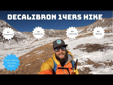 Colorado 14ers: DeCaLiBron (Democrat, Cameron, Lincoln, Bross) Hike Trail Guide