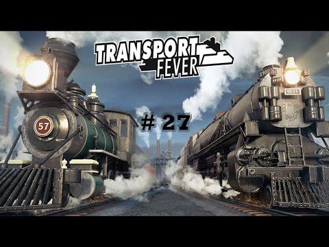 [27] Transport Fever - Flughafen Nord-Süd! [Deutsch | Erakol | Gameplay]