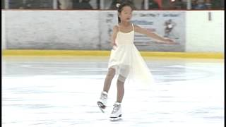 6 years old - Fields of Gold Ice Skating Inspired by Michelle Kwan