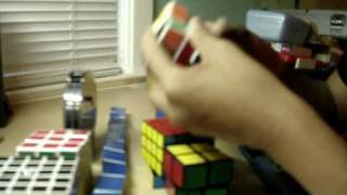 Pcvrj01 R: 2x2,3x3,4x4,snake,square-1,clock, 3x3 Checkerboard, 5x5 Checkerboard