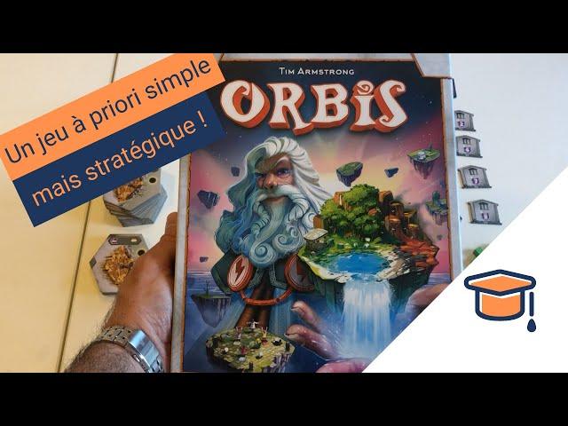 Les règles du jeu de société Orbis - Pitexplique #23