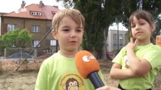 Sportovní hry mateřské školky Doubravka.