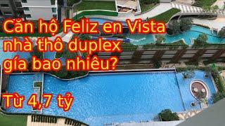 Giải đáp Giá mua bán căn hộ chung cư Duplex Feliz en Vista 2 phòng ngủ nhà thô quận 2 Tphcm