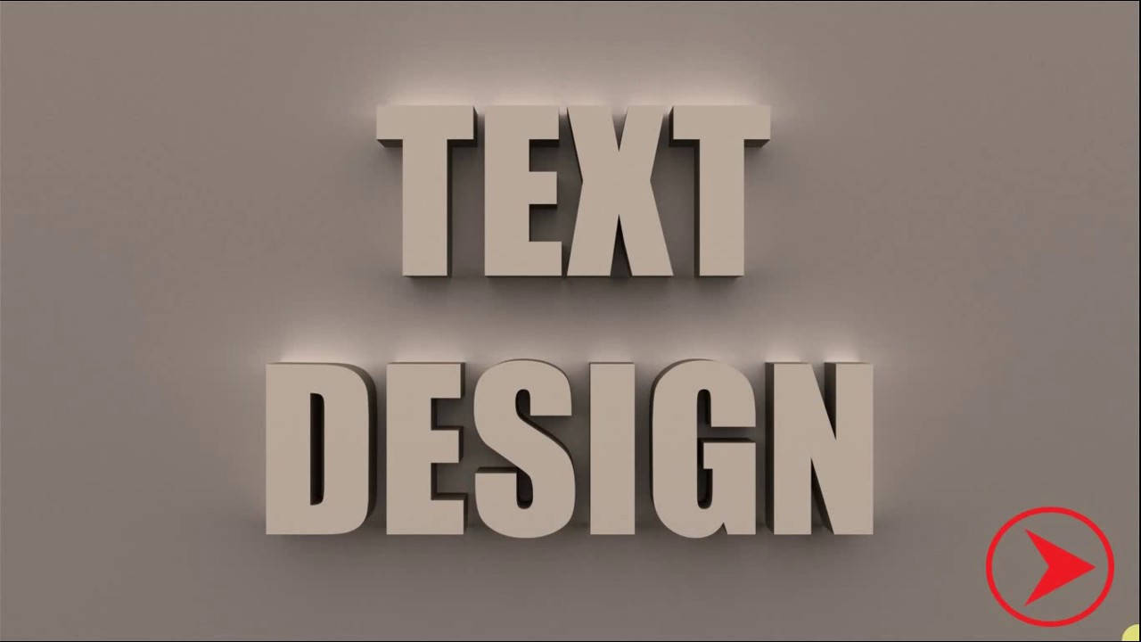 How to make 3d text in photoshop cc 2016 simple 3d text effect how to make 3d text in photoshop cc 2016 simple 3d text effect tutorial baditri Image collections