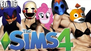 Get Together Expansion ...is Super Sexual!! - The Sims 4: Creepypasta Theme - Ep. 16