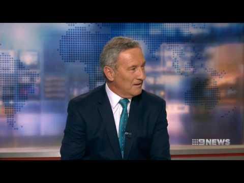 Nine News Sydney   Ken Sutcliffe Announces his Retirement - (02.11.2016)