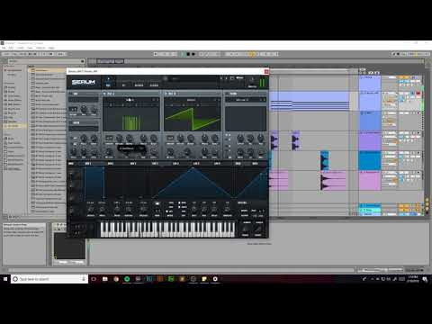Making Melodic Electronic Music in Ableton Live 10 #1 (Track From Scratch)