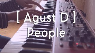 Agust D (어거스트디)- People (사람 )   Piano cover  피아노