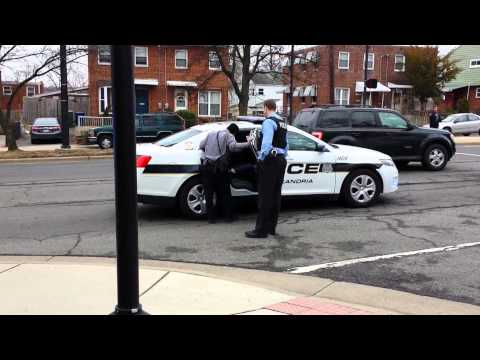 School bus fight arrest in Alexandria VA