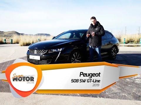 Al volante del Peugeot 508 SW GT-Line 2019 / Review / Prueba / SuperMotorOnline.com