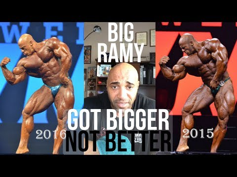 BIG RAMY only got bigger not better: DENNIS JAMES